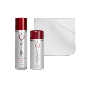 Free Radical Cleansing Kit - Gentle Antioxidant Cleanser and Micellar Treatment Gel